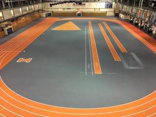 University of Illinois Upgrades Indoor and Outdoor Tracks