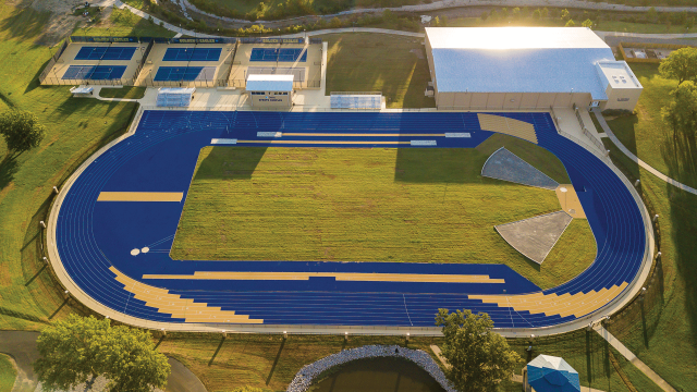 Oral Roberts University track and field
