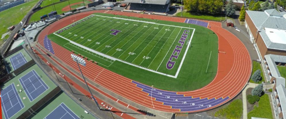 Olympic Caliber Purple: Beynon Resurfaces Track at Linfield College - Beynon